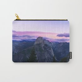 The Mountains and Purple Clouds Carry-All Pouch
