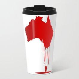 Australia Melting Down Travel Mug