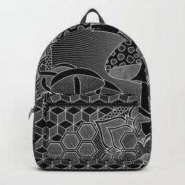 Mushroom Mandala I Backpack