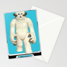 Wampa - Vintage action figure Stationery Cards