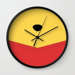 Rumbly in my tummy - Pooh Wall Clock