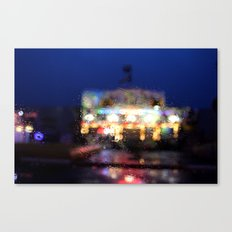 Bright lights. Canvas Print