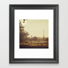 Springtime in Paris Framed Art Print