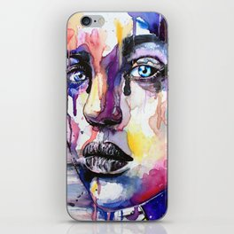 Colored soul iPhone Skin