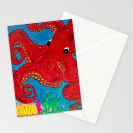 Octo a la Sharpie Stationery Cards