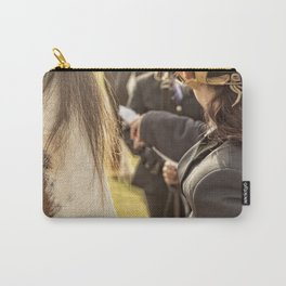 Horse and rider at Agriculture show Australia. Carry-All Pouch