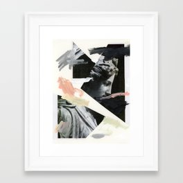 Untitled (Painted Composition 3) Framed Art Print