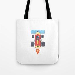 """Creative Drive - """"Car for illustrators"""" Tote Bag"""