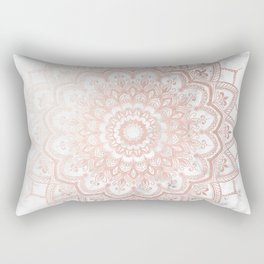 Pleasure Rose Gold Rectangular Pillow