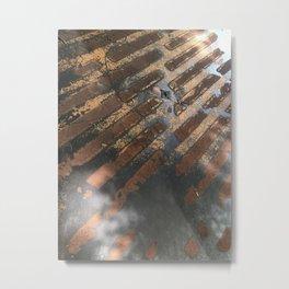PDX City Street Metal Print
