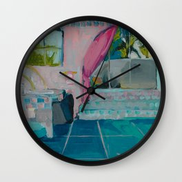 Golden Girls bathroom Wall Clock