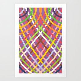 Geometrical- CROSS Art Print
