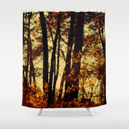 trees VII Shower Curtain