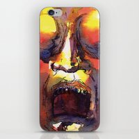 fear iPhone & iPod Skins featuring Fear  by Stevyn Llewellyn