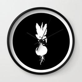 Radish Wall Clock