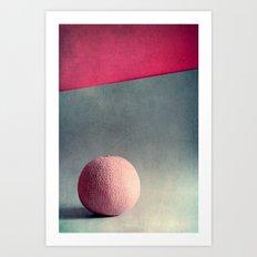 Cantaloupe  Art Print