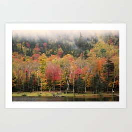 Crawford Notch, New Hampshire Art Print