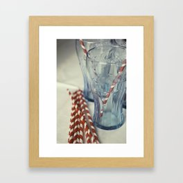 Coca~Cola Framed Art Print
