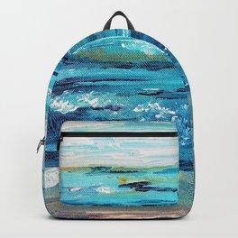 Ocean Painting Backpack