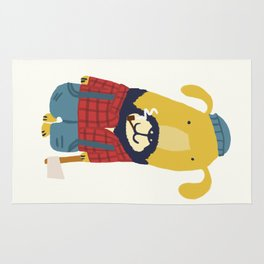 Rugged Roger - the lumberjack Rug