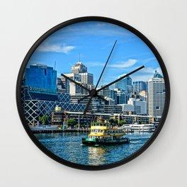 Barangaroo, Sydney Wall Clock