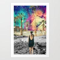 Look Into the Skies Art Print