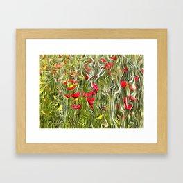 Poisoned Poppies Framed Art Print