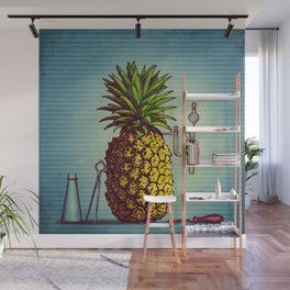 The Pineapple Experiment Wall Mural