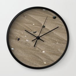 Pebbles and Sand Wall Clock