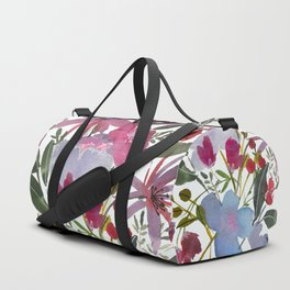 Tropical Flowers Duffle Bag