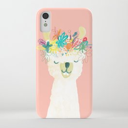 Llama Goddess iPhone Case