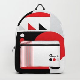 Old School Graphic Backpack