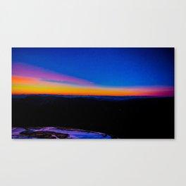 Mt. Leconte Sunrise Canvas Print