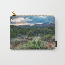 Southwest Serenade - Sunset at Sedona Arizona Carry-All Pouch