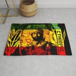 Haile Selassie Lion of Judah Rug