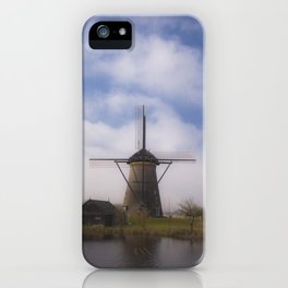 Kinderdijk Windmill III iPhone Case
