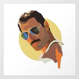 Freddie Art Print