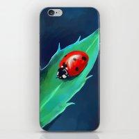 ladybug iPhone & iPod Skins featuring Ladybug by Freeminds