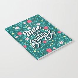 More than Grateful Notebook