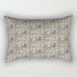 Yarnball Kitty Cat Rectangular Pillow