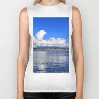 vancouver Biker Tanks featuring North Vancouver by Chris Root