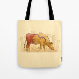 Ode to Heffer Tote Bag