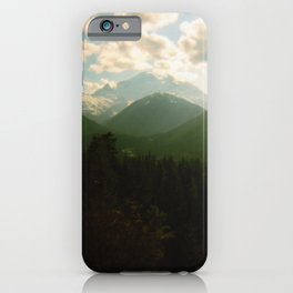 rainier . holga iPhone Case