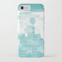 earth iPhone & iPod Cases featuring Earth by David Fleck