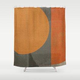 Sad Sun Shower Curtain