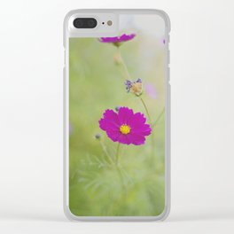 . love in threes . Clear iPhone Case