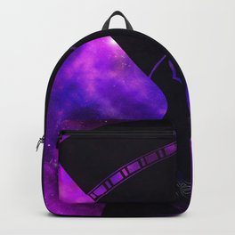 Queen Nefertiti Nebula Dark Space Skyscape Backpack