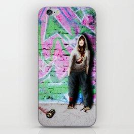 ... street art iPhone Skin