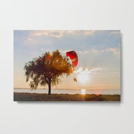 Grand Escape on Summer Sunset Metal Print