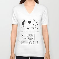 ouat V-neck T-shirts featuring OUAT - A Princess by Redel Bautista